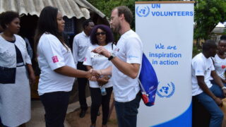 Jeden den dobrovolníka UNICEF vZambii