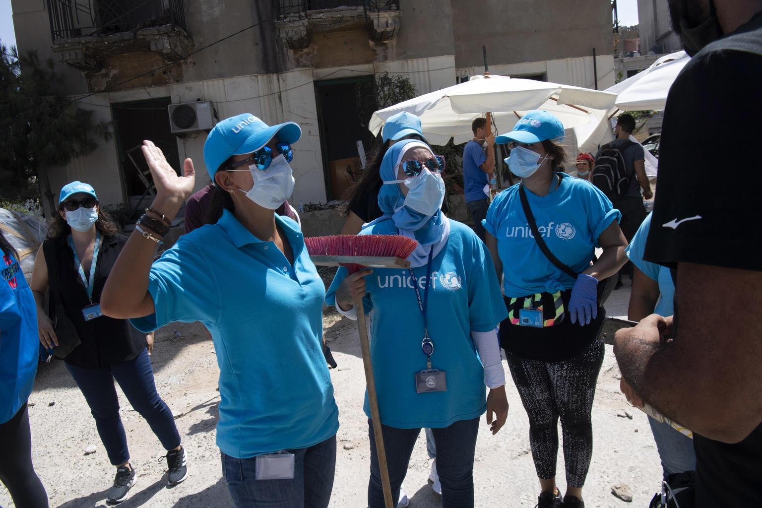 UNICEF pomáhá dětem po explozích vLibanonu