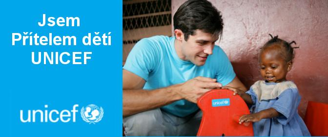Bbánek sponzor UNICEF