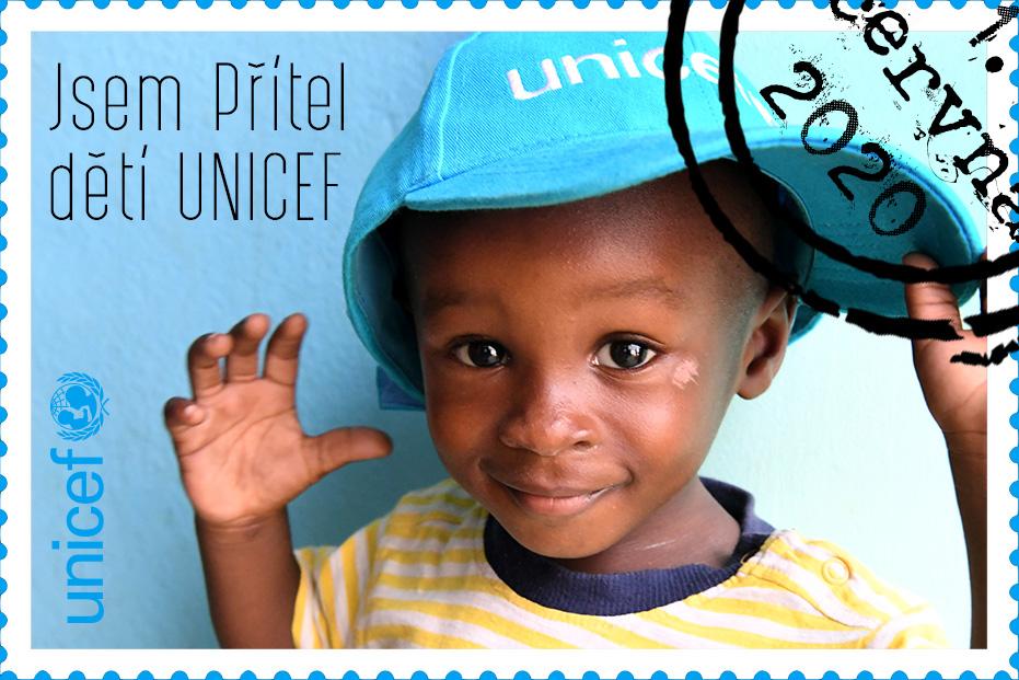 Co znamená být Přítelem dětí UNICEF?
