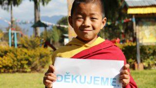 Co se povedlo udělat pro malé mnichy vBhútánu?