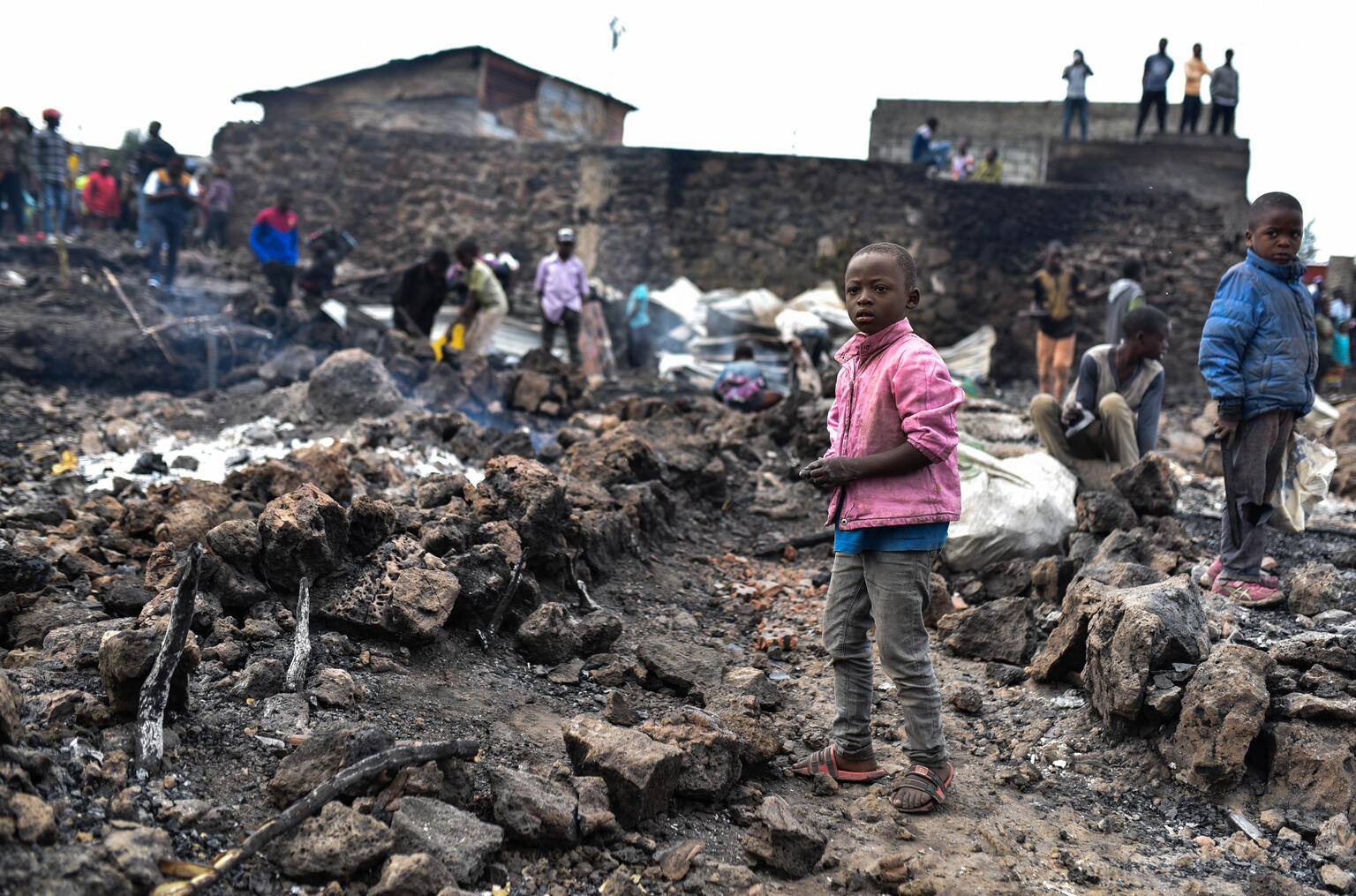 Goma: 280 000 dětí v nebezpečí