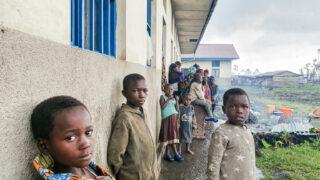 Výbuch sopky uměsta Goma vDR Kongo