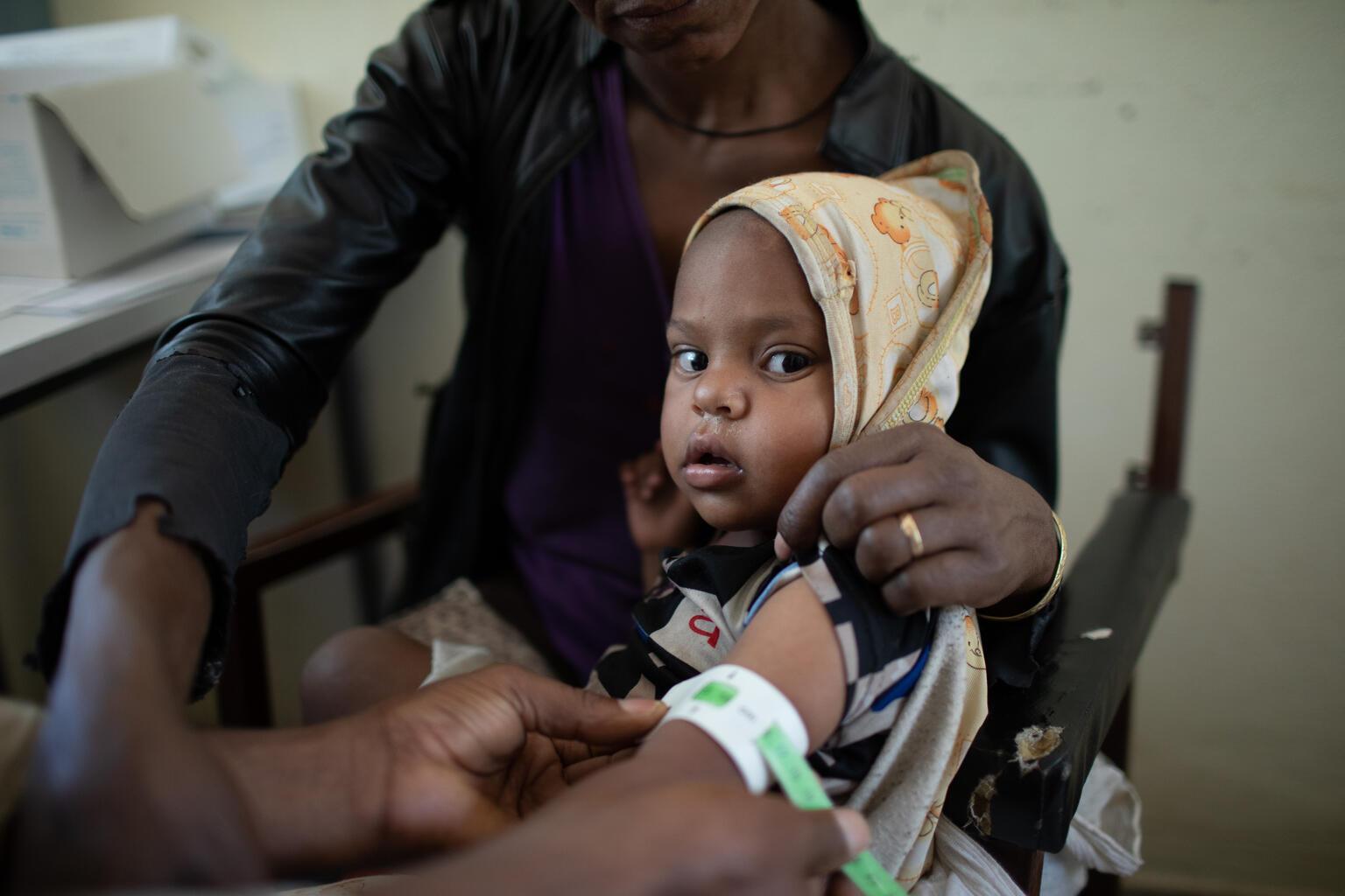 Počínající hladomor v severní Etiopii